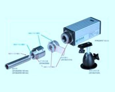 10系列红外测温仪机械安装附件的安装组合