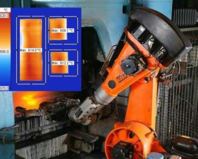 德国DIAS红外测温成像产品在钢铁行业的应用