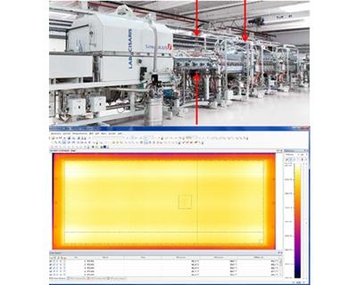 红外扫描热像仪PYROLINE在太阳能电池生产中的应用