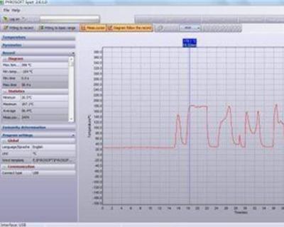 红外测温仪软件PYROSOFT SPOT