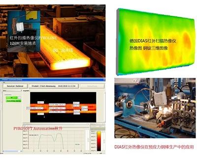 德国DIAS红外热成像仪在钢铁行业的应用