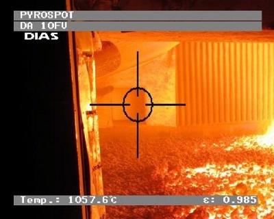DA10F, DA10FV , 透过火焰测温的红外测温仪, 200-2500°C