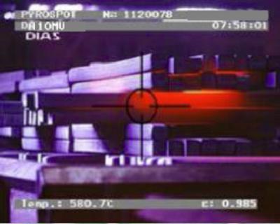 DA10M, DA10MV, 30-850°C, 75-1400°C , 工业和研发用低温中波红外测温仪