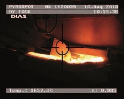 新高精度玻璃专用型红外测温仪DA10G , DA10GV , 75~2500°C