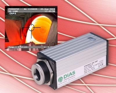 半导体硅片测温专用型DY10P , 300~1300°C ,3.43μm