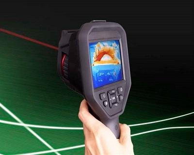 便携式长波红外热像仪M380L , -20-550°C