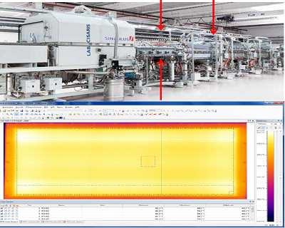智能制造:红外扫描热像仪PYROLINE在太阳能电池生产中的应用