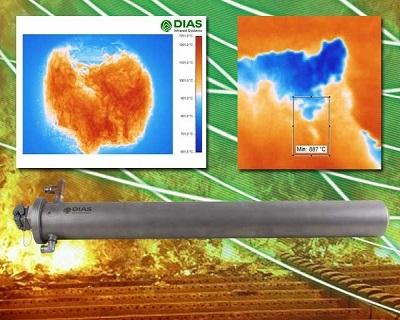 智能制造:PYROINC768N燃烧室红外热成像仪系统