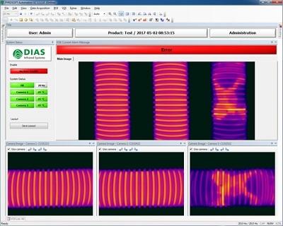 智能制造:柔性管红外热像监控系统PYROVIEW 380L
